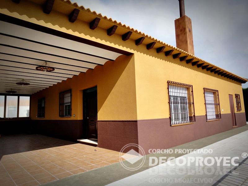 Casa de este alojamiento aislamiento de fachadas 2013 con - Casas de corcho ...