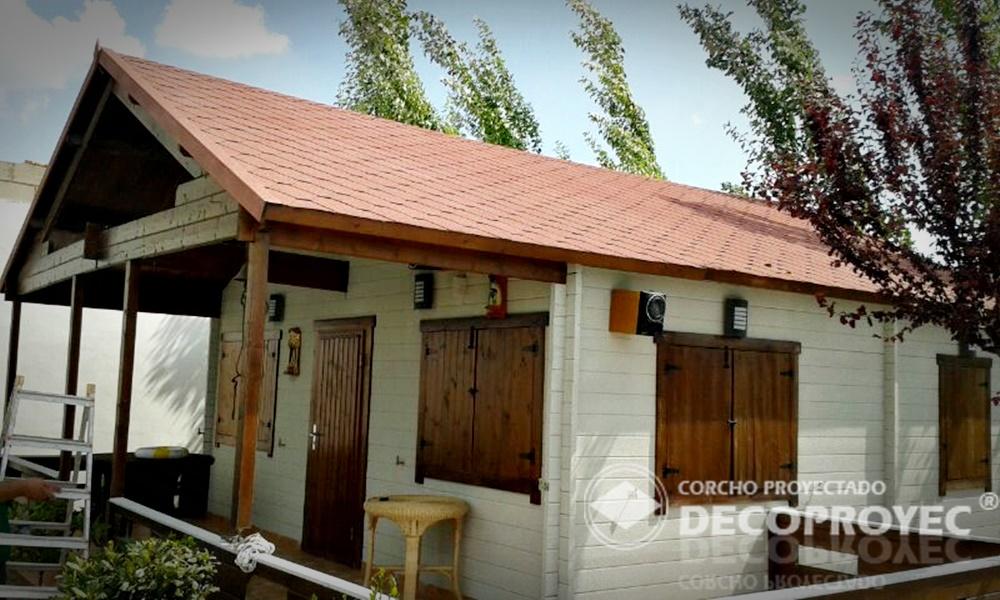 Aislamiento t rmico con corcho proyectado - Aislamiento termico para casas ...